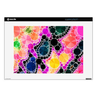 "Beautiful Bling Abstract Pattern 15"" Laptop Decal"