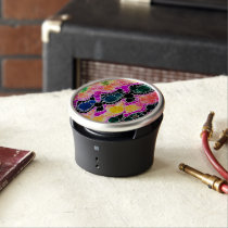 Beautiful Bling Abstract Pattern Bluetooth Speaker