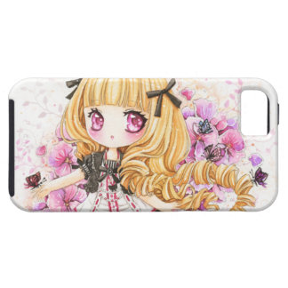 Beautiful blond anime girl - Iphone4 Case