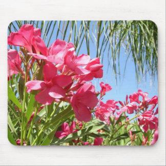 Beautiful Blooming Oleanders Mousepad