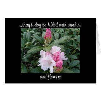 Beautiful Blooms Encouragement Flowers Card