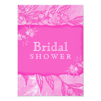 Beautiful Blooms In Pink Card