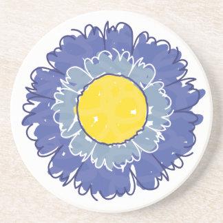 Beautiful Blossom Coaster - Blue