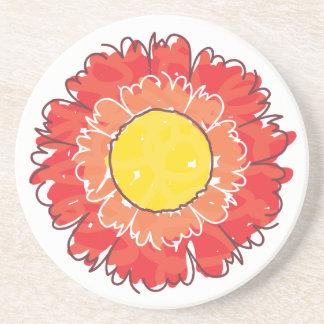 Beautiful Blossom Coaster - Red