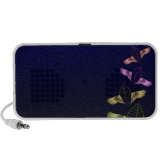 Beautiful blossom in vibrant colors speaker system