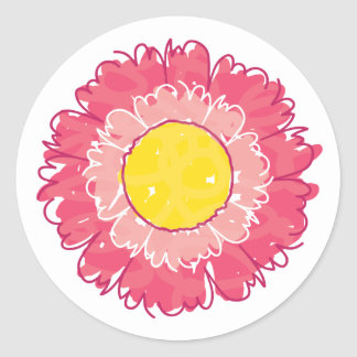 Beautiful Blossom Sticker - Pink