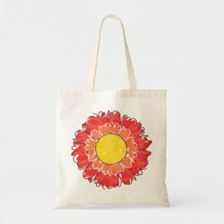 Beautiful Blossom Tote Bag - Red