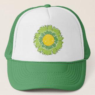 Beautiful Blossom Trucker Hat - Green