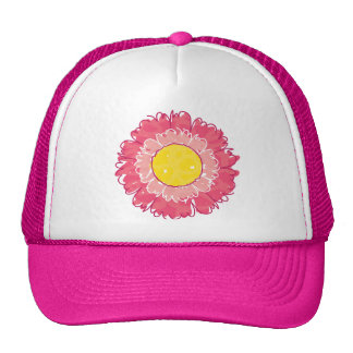 Beautiful Blossom Trucker Hat - Pink