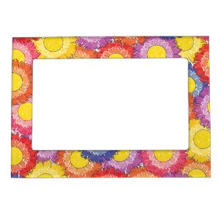 Beautiful Blossoms Magnetic Frame - Multi