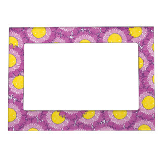 Beautiful Blossoms Magnetic Frame - Purple
