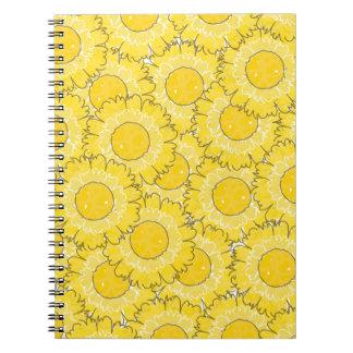 Beautiful Blossoms Notebook - Yellow
