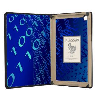 Beautiful Blue Binary iPad Mini Retina Cover