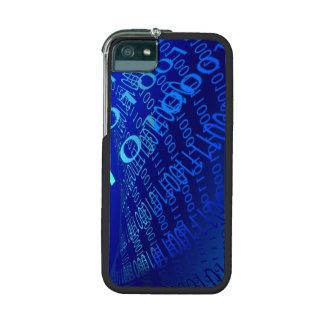 Beautiful Blue Binary iPhone 5/5S Cover