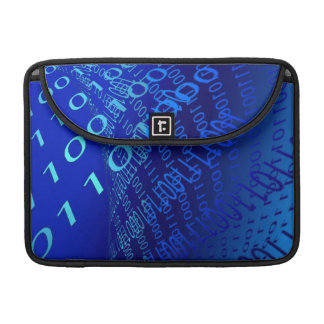 Beautiful Blue Binary MacBook Pro Sleeve