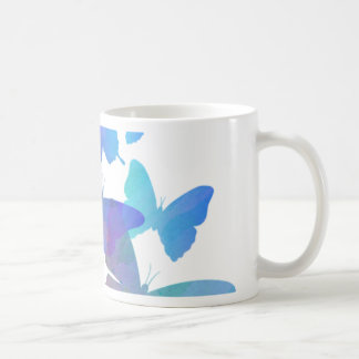 Beautiful Blue Butterflies Coffee Mug