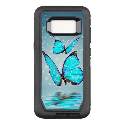 beautiful blue  butterflies Phone Case