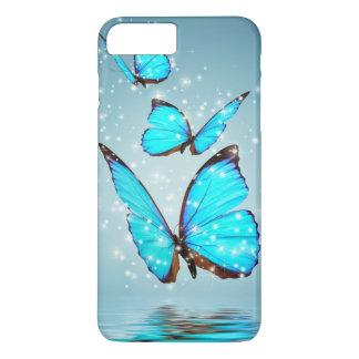 beautiful blue butterfly iPhone 8 plus/7 plus case