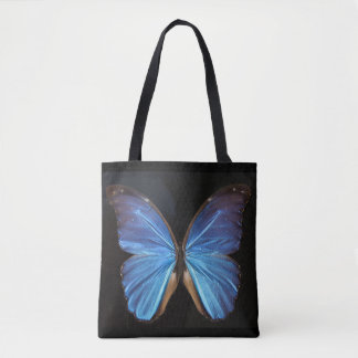 Beautiful Blue Butterfly Photography Tote Bag
