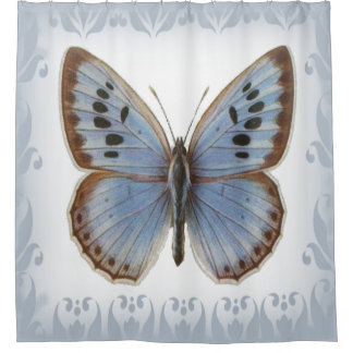 Monarch Butterfly Shower Curtains | Zazzle