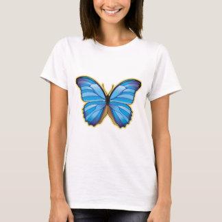 Beautiful Blue Butterfly T-Shirt