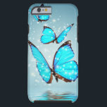 """beautiful blue butterfly tough iPhone 6 case<br><div class=""""desc"""">beautiful blue butterfly</div>"""