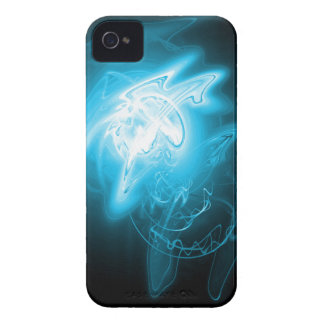 Beautiful Blue Energy iPhone 4 Cover