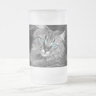 Beautiful Blue Eyed Kitty Coffee Mugs