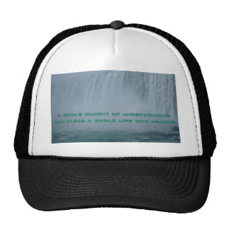 Beautiful Blue Green Niagra Falls Inspirational De Trucker Hat