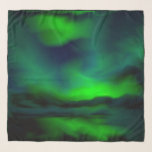 "Beautiful Blue Green Northern Lights Abstract Art Scarf<br><div class=""desc"">This is gorgeous abstract painting of the beautiful blue green northern lights in the vivid blue green hues of the Aurora Borealis A perfectly chic artistic fashion statement for the art lover in you. #auroraborealis #northernlights #bluegreen #abstract #chic #scarf</div>"