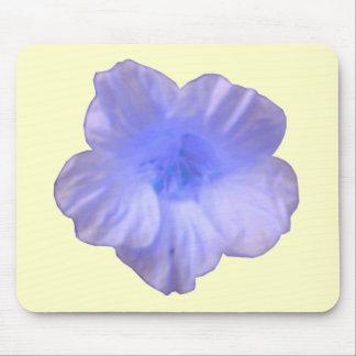 Beautiful Blue Nasturtium Mousepad