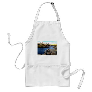 Beautiful Blue Nile  River in Upper Egypt photo Adult Apron