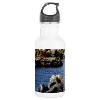 Beautiful Blue Nile  River in Upper Egypt photo Stainless Steel Water Bottle