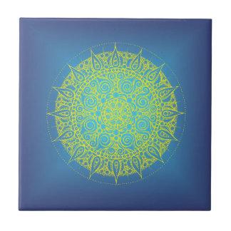 Beautiful Blue Oriental Design Tile