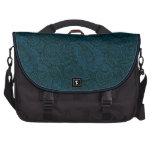 Beautiful Blue Paisley Laptop Bag
