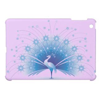 Beautiful Blue Peacock Design iPad Mini Cover