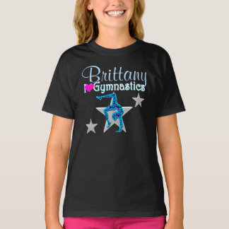 BEAUTIFUL BLUE PERSONALIZED GYMNASTICS APPAREL T-Shirt