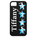 BEAUTIFUL BLUE PERSONALIZED GYMNASTICS IPHONE CASE iPhone 5 COVERS