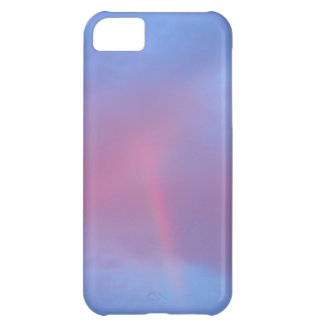 Beautiful Blue & Pink Sunset iPhone Case Case For iPhone 5C
