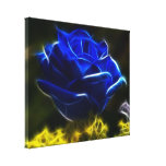 Beautiful Blue Rose Stretched Canvas Prints