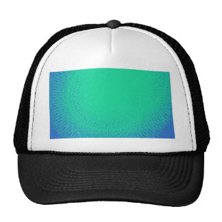 beautiful blue sea water , refreshing.. trucker hat