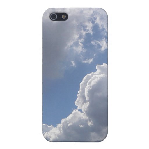 Beautiful Blue Sky and Clouds Protective case iPhone 5 Cases