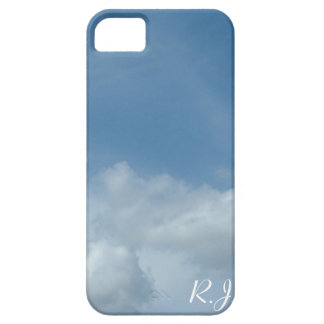 Beautiful blue sky and white clouds iPhone 5 covers