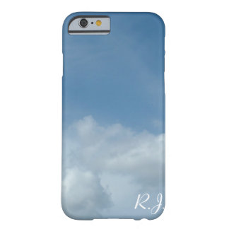 Beautiful blue sky and white clouds iPhone 6 case