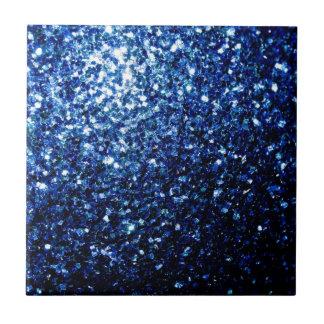 Beautiful Blue sparkles Ceramic Tile