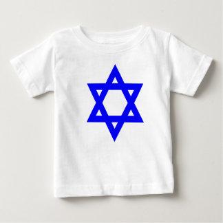 BEAUTIFUL BLUE STAR OF DAVIDBABY/INFANT T SHIRT