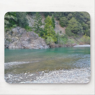 Beautiful Blue Stream in Northern California Mouse Pad