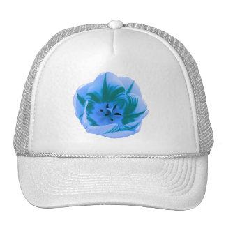Beautiful Blue Tulip Hat