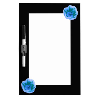 Beautiful Blue Tulip Memo Board