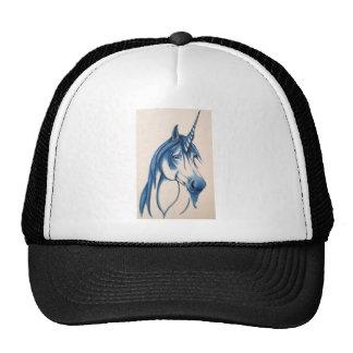 Beautiful Blue unicorn Hat